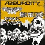 Diabolic Heritage, Half Past Dead, Absurdity, Systematic Eradication (JuZ Försterstraße, Saarbrücken)