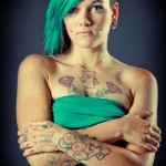 Tattoo-Shooting mit Eve