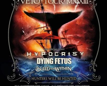 Heaven shall burn - Veto Tour 2013