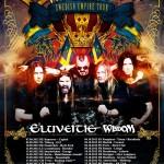 Swedish Empire Tour 2012 mit Sabaton, Eluveitie, Wisdom (Garage, Saarbrücken)