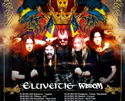Sabaton - Swedish Empire Tour 2012 mit Eluveitie, Wisdom